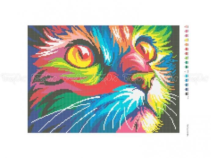 Радужный кот схема