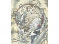 Схема вишивки бісером «Ловець снів» (A1)