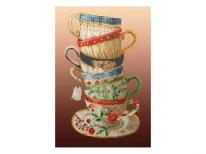 Схема вышивки бисером «Чаепитие» (30x50)