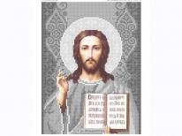 Схема вишивки бісером «Ісус 3446с» (A4)