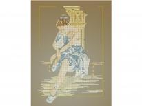 Схема «Балерина 6075» (40x45)