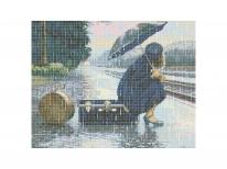 Схема вышивки бисером «Плохая погода» (40x45)