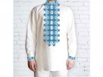 Заготовка мужской сорочки для вышивки бисером «579»