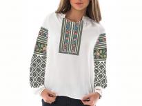 Заготовка женской блузы «Борщивськая мозаика»