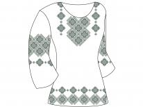 Заготовка женской туники для вышивки бисером «Орнамент 60 С»