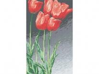 Схема вышивки бисером «Тюльпаны» (30x60)