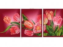 Схема вышивки бисером «Тюльпаны» (120х60)
