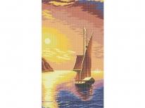 Схема вышивки бисером «Закат» (30x60)
