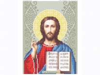 Схема вишивки бісером «Ісус 3446» (A4)