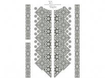 Вставки для мужской сорочки «152»