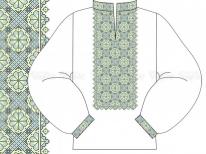Заготовка чоловічої сорочки для вишивки бісером «Горицвіт 514 С»  РОЗПРОДАЖ