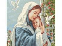 Схема вышивки бисером «Материнская любовь» (A1)