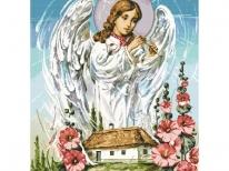 Схема вышивки бисером «Ангел хранитель» (A1)