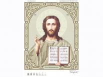Схема вишивки бісером «Ісус 3446-1к» (A4)