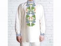 Заготовка чоловічої сорочки для вишивки бісером «119»