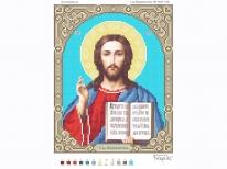 Схема вишивки бісером «Ісус 3446-1» (A4)