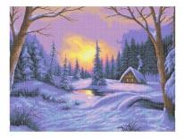 Схема вишивки бісером «Чарівна зима» (В1)