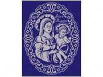 Схема вышивки бисером «Мария» (40x45)