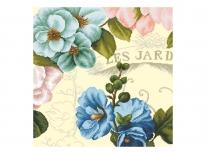 Схема вишивки бісером «Вінтажні квіти 3» (50х50)