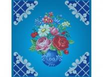 Схема вишивки бісером «Букет квітів» (50х50)