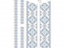 Вставки для детской сорочки «с-221 голубая»