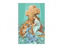 Схема вышивки бисером «Спасение утопающей» (A1)