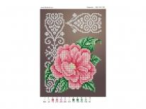 Схема вышивки бисером «Камелия» (A5)