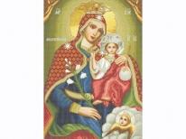 Схема вышивки бисером «Св. Богородица Милостивая» (A1)