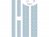 Вставки для детской сорочки «с-200 голубая»
