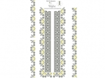 Вставки для мужской сорочки «548 Дивоцвет»