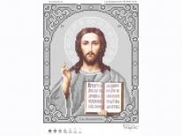 Схема вишивки бісером «Ісус 3446-1с» (A4)