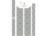 Вставки для мужской сорочки «540 С»