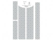 Вставки для мужской сорочки «598 С»