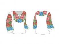 Заготовка детской блузы «Буковинська»