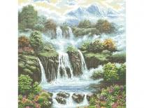 Схема вышивки бисером «Водопад» (A1)