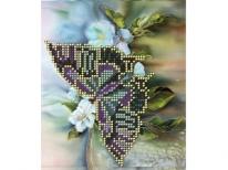 Схема вышивки бисером «Бабочка на ветке» (A5)