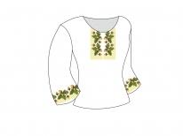 Заготовка женской блузы «Дубок Версаче»