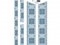 Вставки для детской сорочки «с-224 голубая»