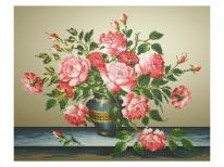Схема вышивки бисером «Букет с розами» (A1)