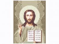 Схема вишивки бісером «Ісус 3446к» (A4)