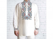 Заготовка мужской сорочки для вышивки бисером «170»