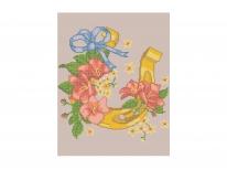 Схема вышивки бисером «Подкова на счастье» (A3)