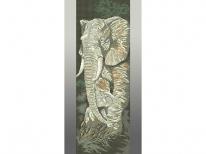 Схема вышивки бисером «Слоны П-217» (30x60)