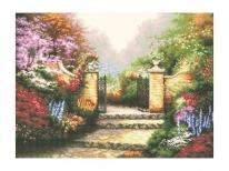 Схема вышивки бисером «Летний сад» (A1)