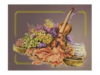 Схема вишивки бісером «Скрипка»   (A2)
