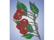 Схема вышивки бисером «Вишни» (A5)