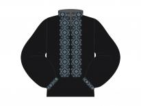 Заготовка мужской сорочки для вышивки бисером «Звездопад»