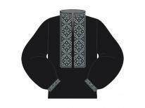 Заготовка мужской сорочки для вышивки бисером «Нежные лилии»