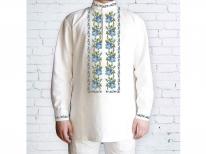 Заготовка мужской сорочки для вышивки бисером «100-Г»