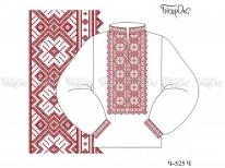 Заготовка чоловічої сорочки для вишивки бісером «Орнамент 525» РОЗПРОДАЖ